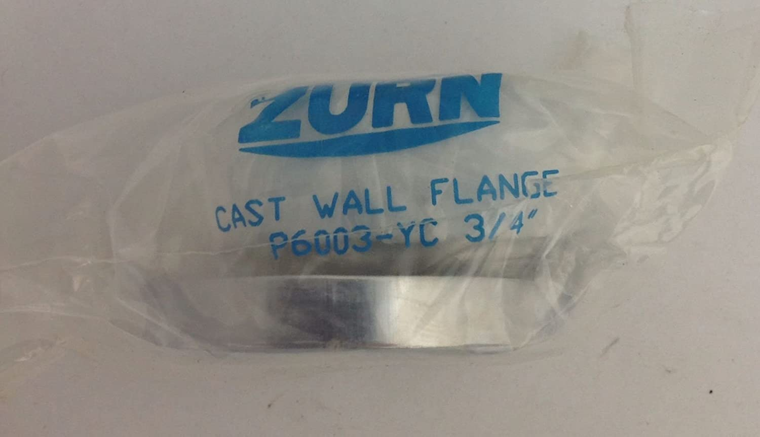 "ZURN  CAST WALL FLANGE P6003-YC 3//4/""   NEW"