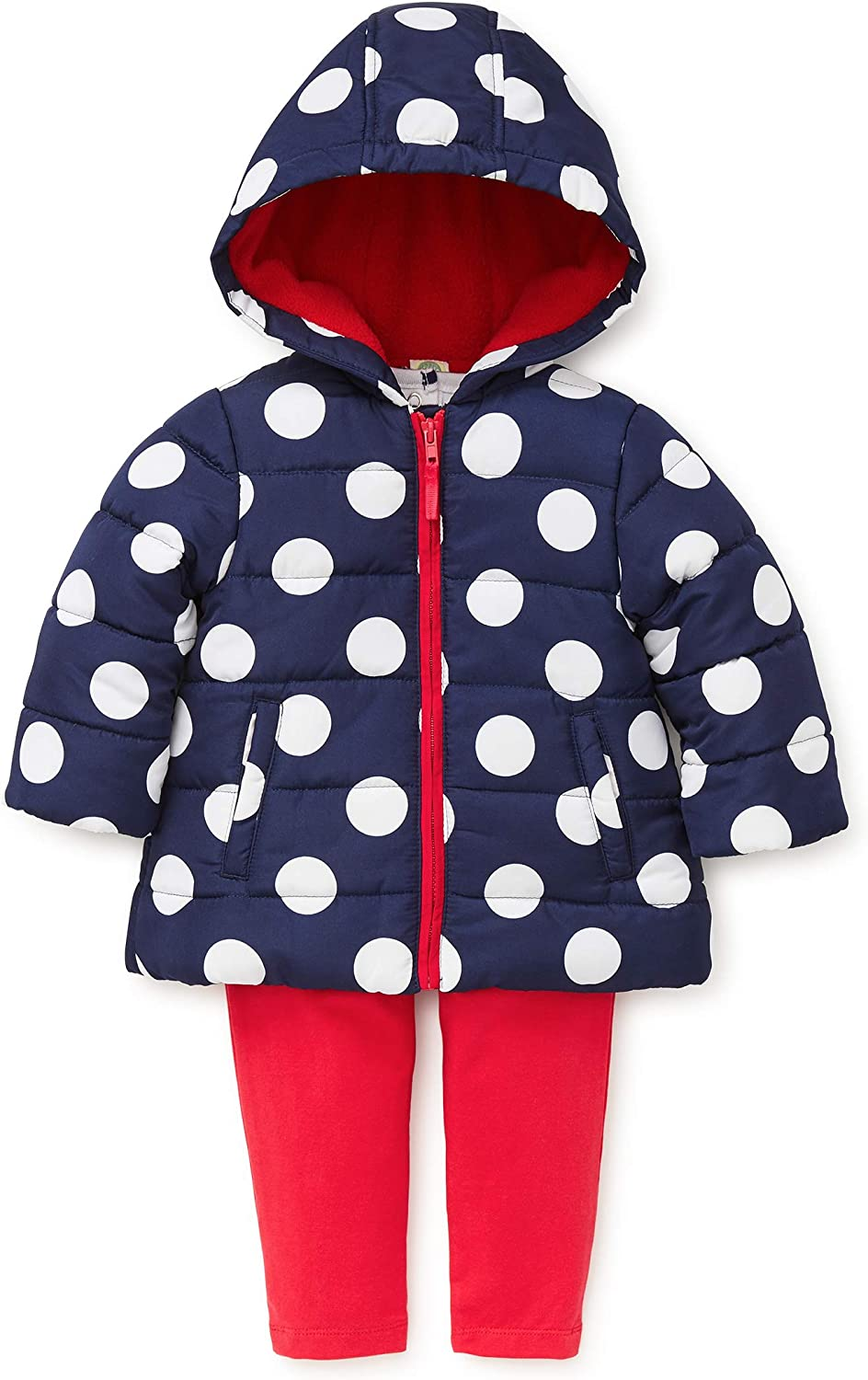 Little Me Baby Girls Jacket Set Outerwear