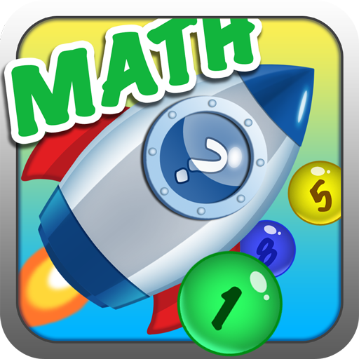 Number Bubble Rocket - Math Games for kids