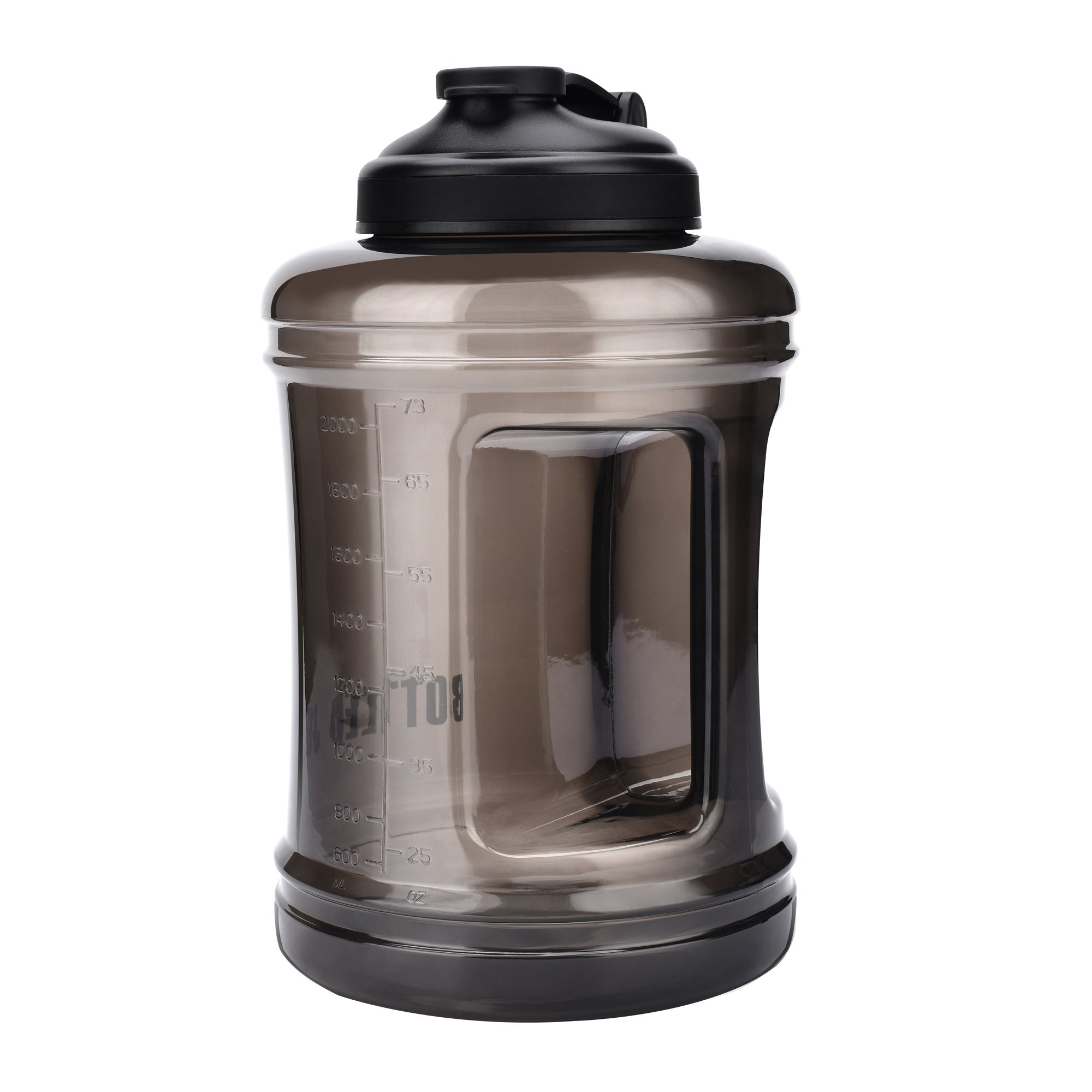 Large Capacity Water Bottle Jug [85OZ/2.5L, Hard BPA-Free PETG Material] Huge Drinking Bottles Water Container for Outdoor Training Bodybuilding Gym Camping and more