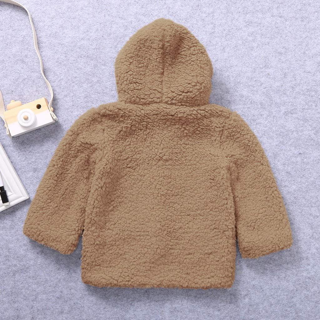 0-24 Monate Kleinkind Baby Jungen M/ädchen Cartoon Bunny Ears Warm Hooded Romper Jumpsuit aiyvi Baby Jungen und M/ädchen Bekleidungssets