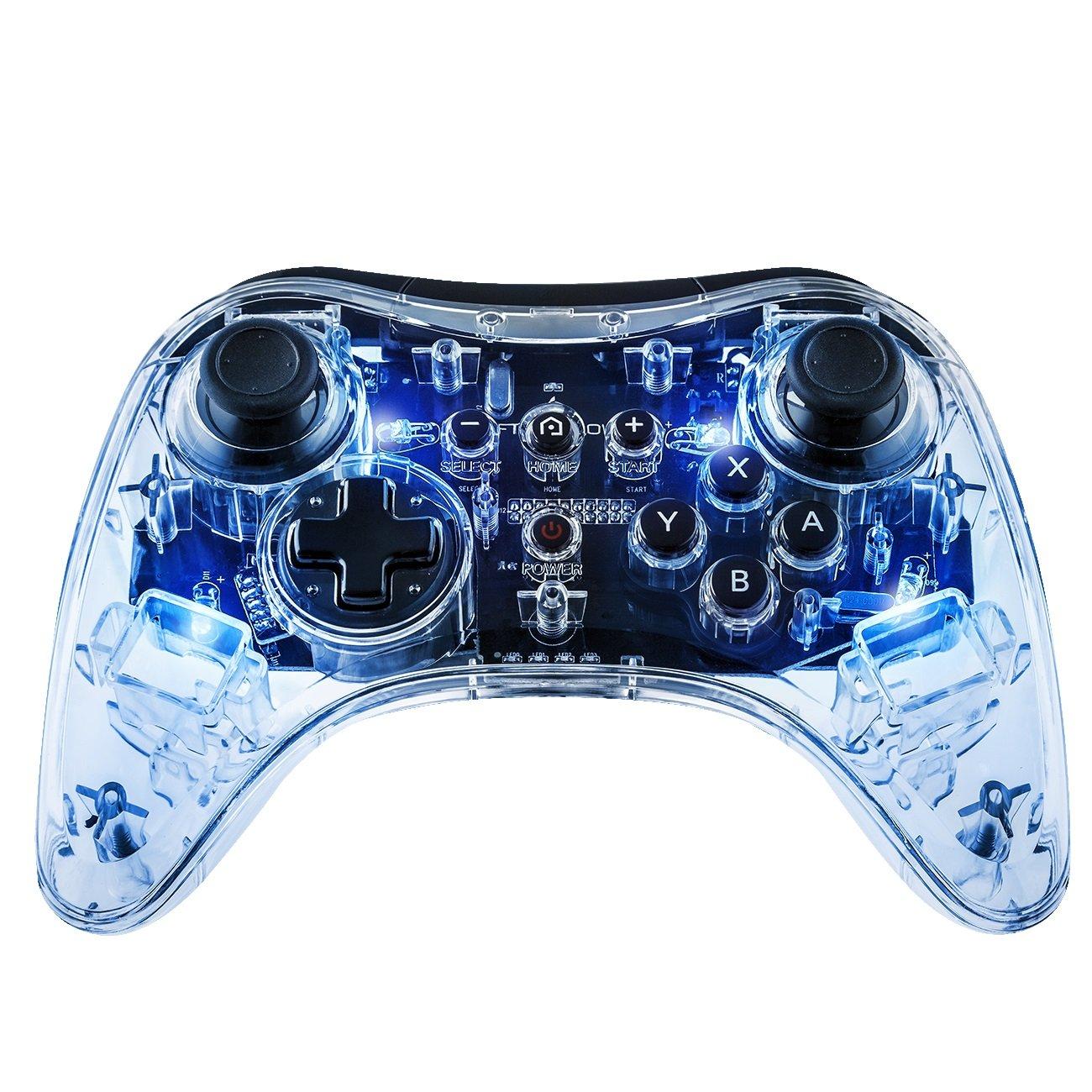 Afterglow Wireless Pro Controller: Signature Blue - Wii U