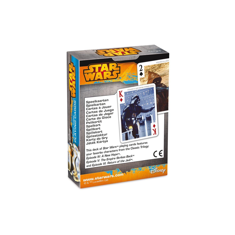 Amazon.com: Cartamundi 22501577-cartes to Jouer-Star Wars ...