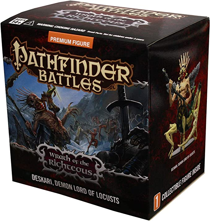 PATHFINDER BATTLES WRATH OF RIGHTEOUS DEMON LORD: Amazon.es: Juguetes y juegos