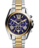 Michael Kors Bradshaw Women's Blue Dial Stainless Steel Chronograph Watch - MK5976