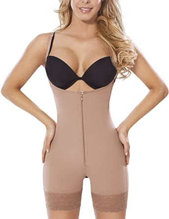 1491146303c MOLDEATE 5050 Low Back Body Shaper at Amazon Women's Clothing store: