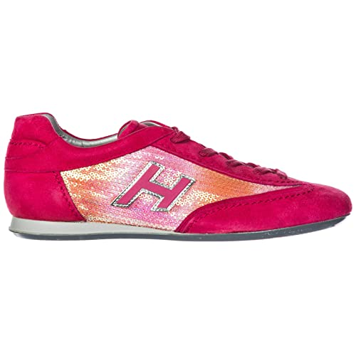 8b69788a6ee46 Hogan Sneakers Olympia Donna Fucsia  Amazon.it  Scarpe e borse