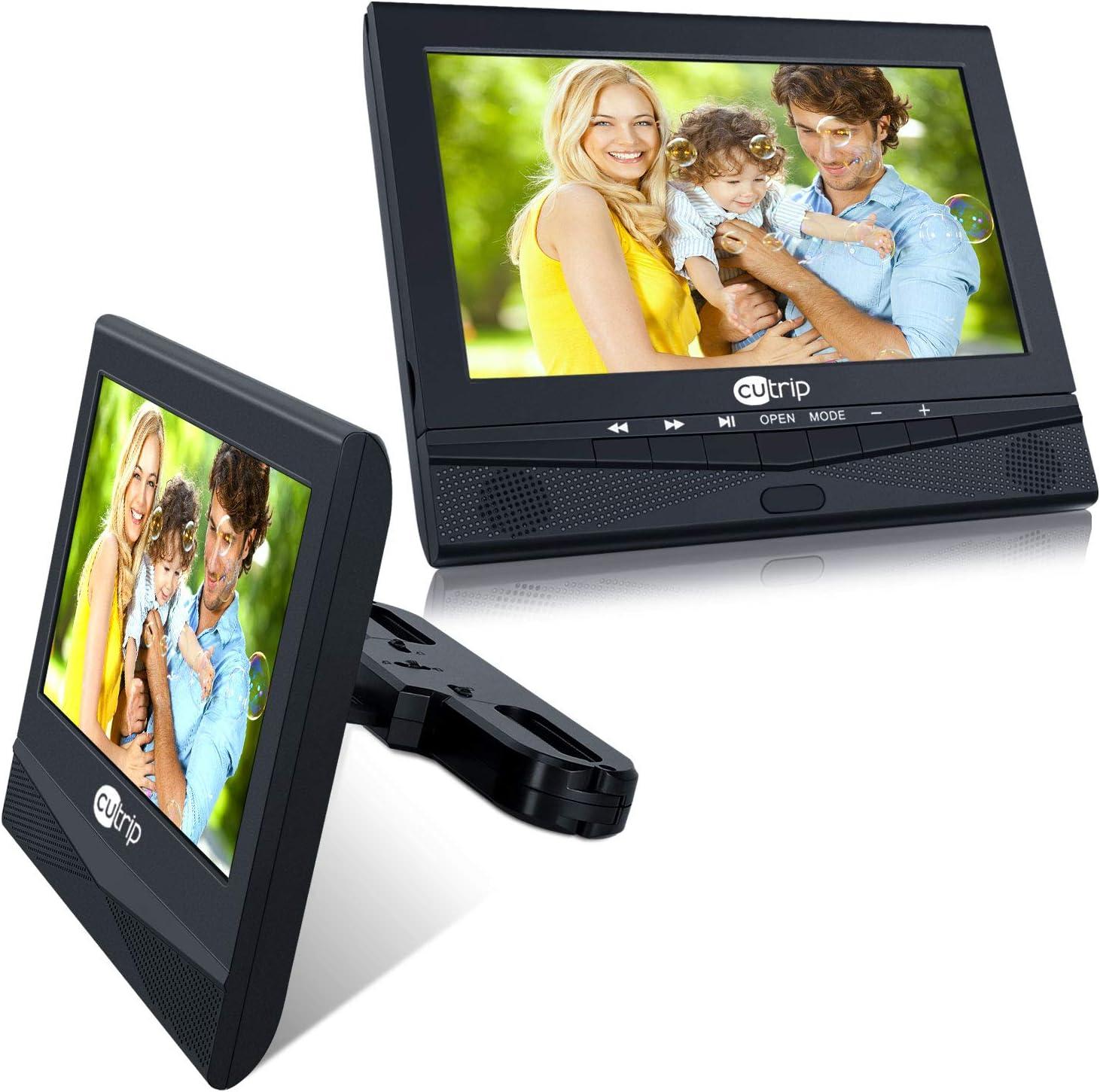 cutrip 10 Pulgadas Coche Monitor Reproductor de DVD: Amazon.es: Electrónica