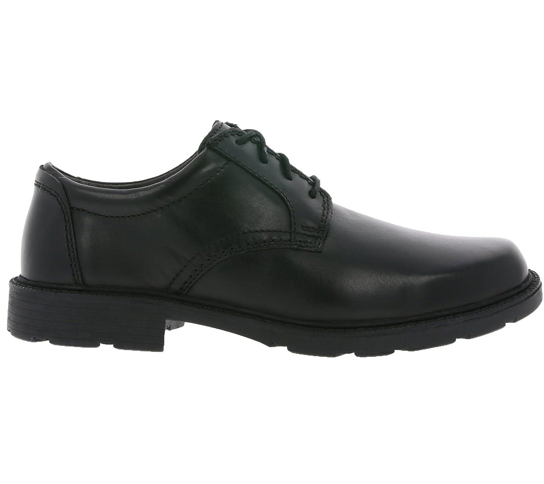 Clarks Batcombe Hall, Derbys Homme, Noir (Black Leather-), 39.5 EU