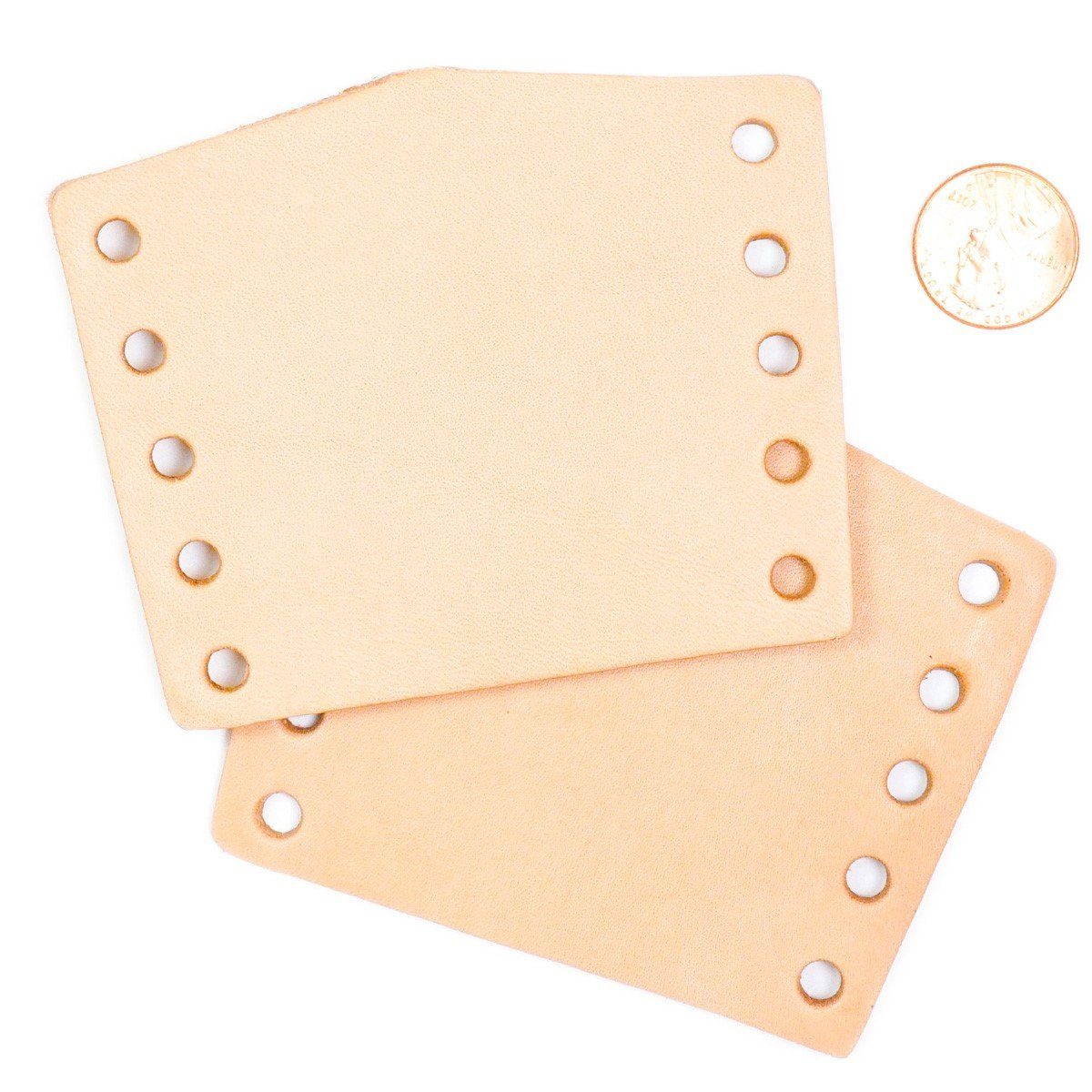 Springfield Leather Company 100 Pack of Leather Neckerchief Slide 3-1/2''x2-3/4''