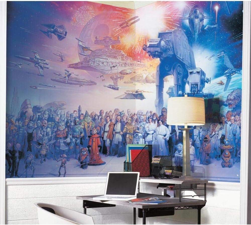 RoomMates JL1230M D/écoration Murale Motif Saga Star Wars