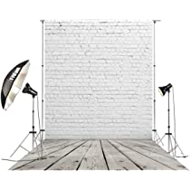 HuaYi Vinyl Modern Artistic Photography Wonderful Wooden Floor Decoration Gray White Wall Background Backdrops for Empty Room Decor Simple Interior Design Backdrops US-D-9298-6/×8ft