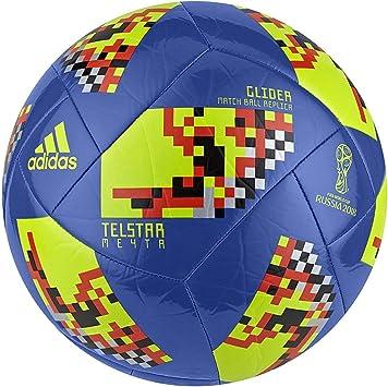 adidas World Cup KO Top Glider Fußball Bälle, Blau, 5