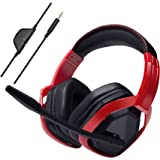 AmazonBasics Pro Gaming Headset - Red