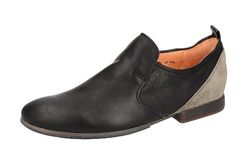 Mocasines de Piel Para Hombre Negro Negro: Amazon.es: Zapatos y complementos