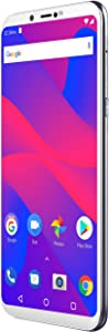 "BLU Studio Mega 2018-6.0"" HD Unlocked Smartphone with Dual Main Camera -Silver"