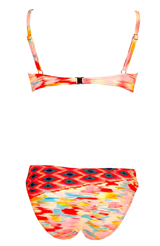 42a5650bb9 Tessy Beachwear Women's Bikini Set - Multicoloured - 38/12: Amazon.co.uk:  Clothing