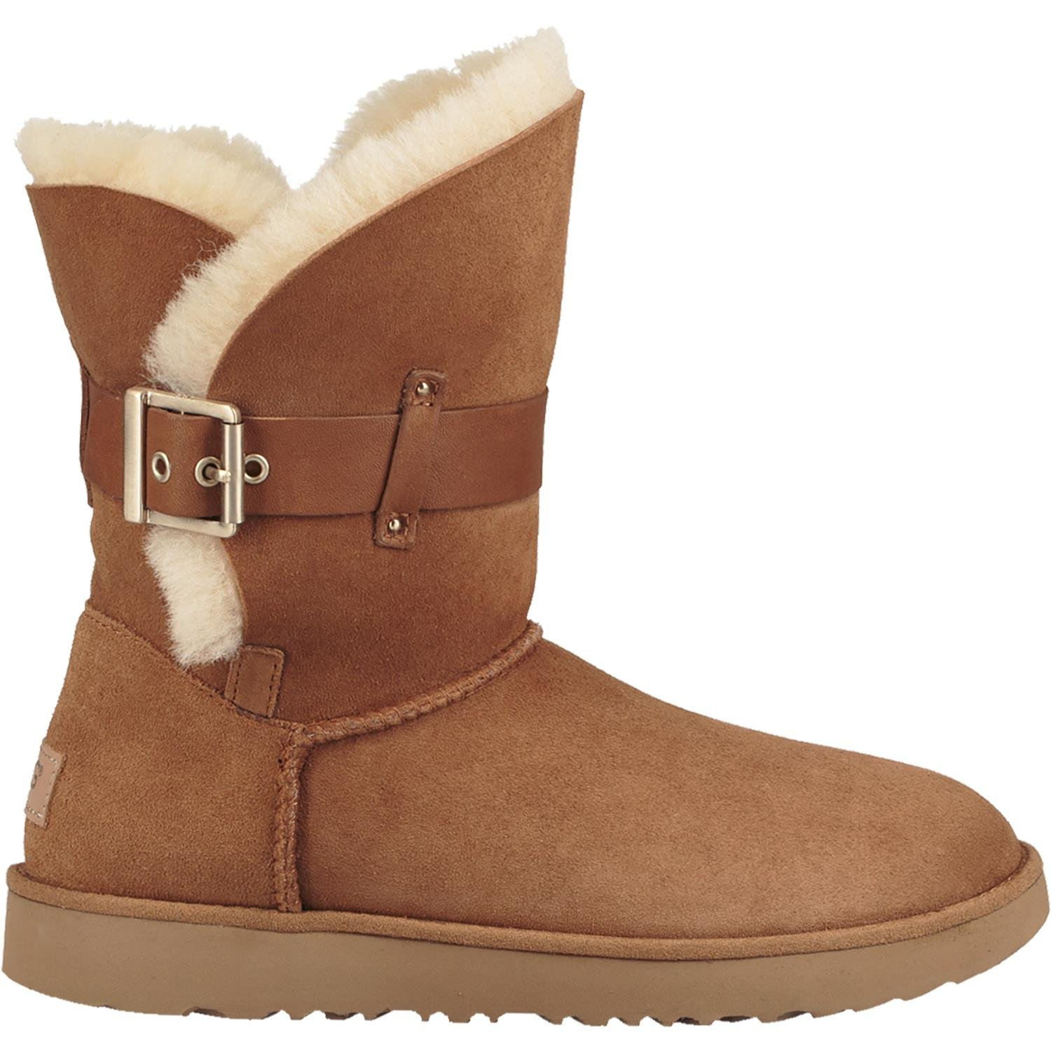 UGG Womens Jaylyn Shearling boot Chestnut Size 9 by UGG