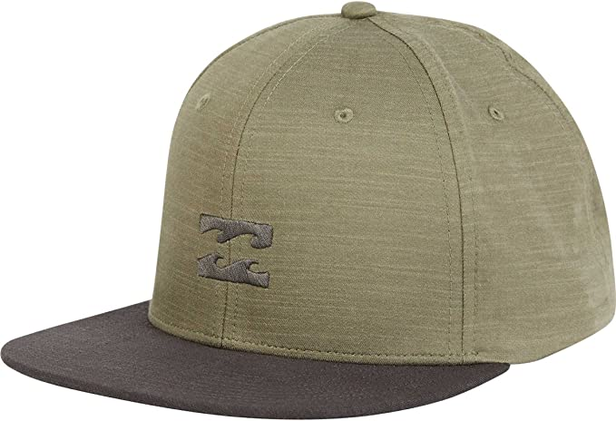 picked up huge sale new specials Billabong Men's All Day Heather Snapback Hat Light Military One ...