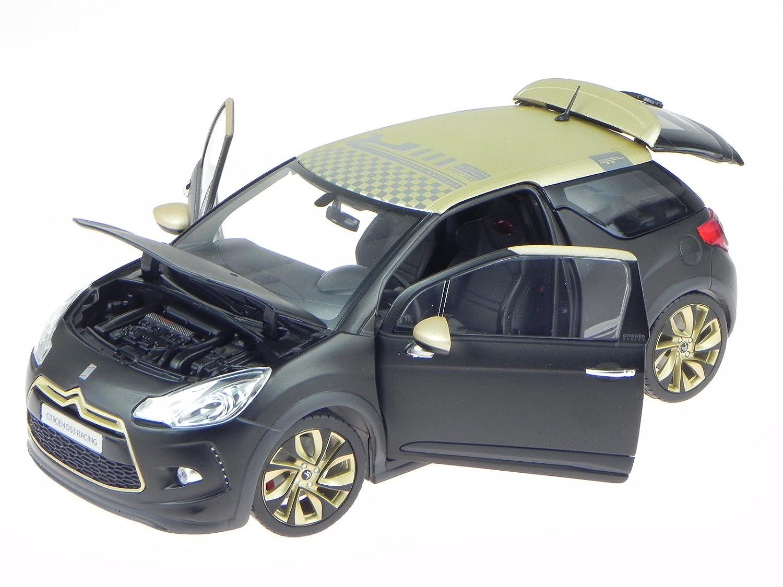 Citroen DS3 DS 3 Racing 2013 sw matt gold Modellauto 181547 Norev 1:18