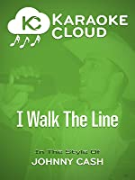 Karaoke Cloud - I Walk The Line