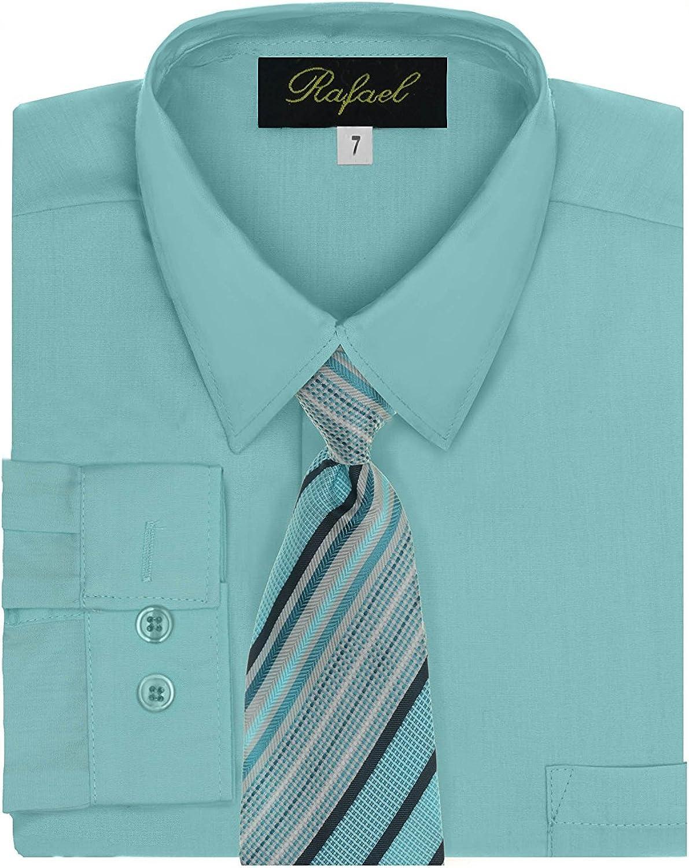 Rafael Boy's Dress Shirt & Tie