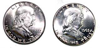 1963 P&D Franklin Half Dollar BU