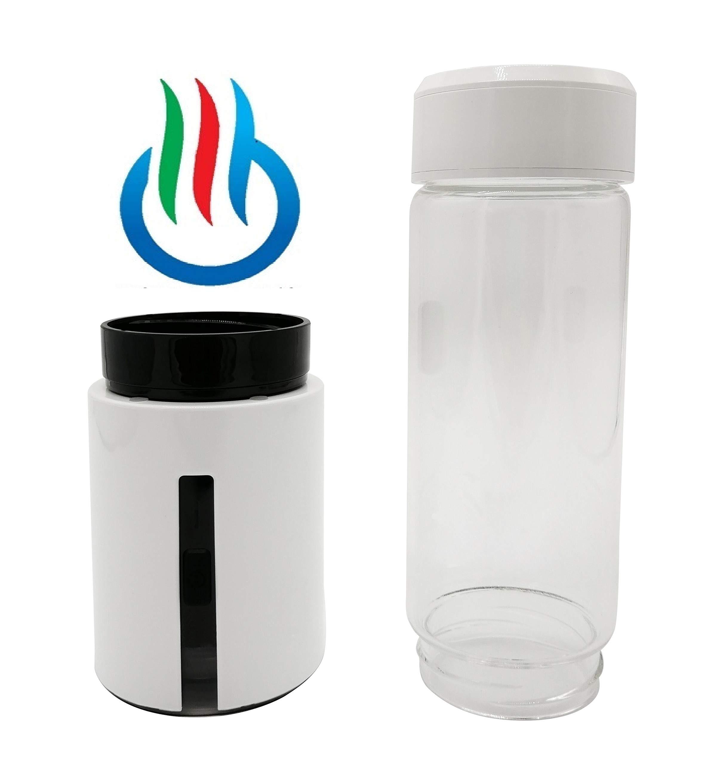 H2 USB Sport Pro II Portable Hydrogen Water Generator with Glass Bottle