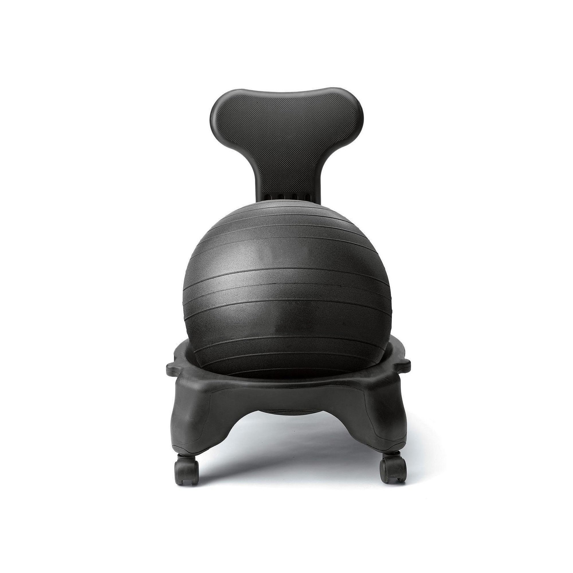 1UP Fit-Chair Balance Ball Chair Home & Office - Pump and Exercise Guide
