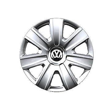 Embellecedores tapacubos Copa x rueda Volkswagen Polo 5 2009 14 pulgadas individual: Amazon.es: Coche y moto