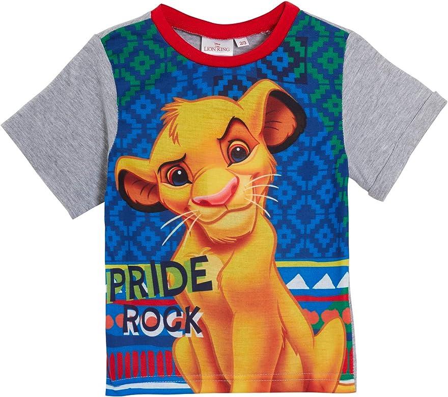 Pijama Corto Unisex de Disney Lion King para ni/ñas