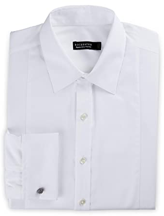 6d145fe6 Rochester by DXL Big and Tall Non-Iron Formal Tuxedo Shirts at Amazon Men's  Clothing store: