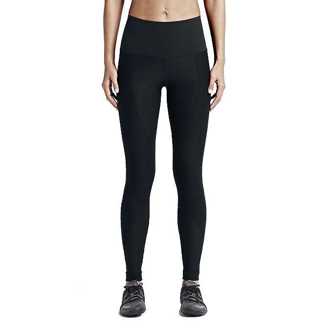Nike Zoned Sculpt Tight Mallas para Mujer, Color Negro