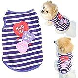 Malloom® Small Pet Costume Dog Cat Shirt Small Clothes Vest T Shirt (L)