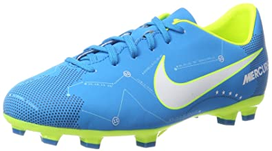 finest selection 9a7d1 fb966 Nike Jr. Mercurial Victory VI Neymar FG, Chaussures de Football Mixte  Enfant, Bleu