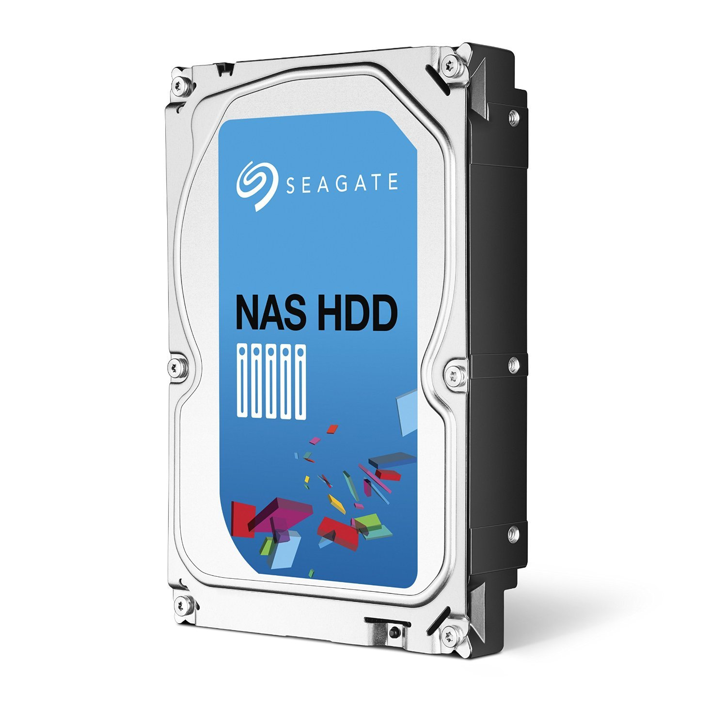 (Old Model) Seagate 4TB NAS HDD SATA 64MB Cache 3.5-Inch Internal Bare Drive (ST4000VN000) by Seagate (Image #1)