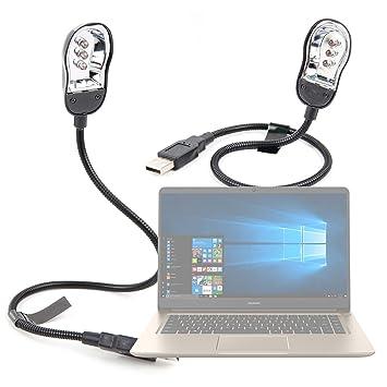 DURAGADGET Luz LED USB para Portátil Huawei MateBook D, con Cuello de Cisne.: Amazon.es: Electrónica