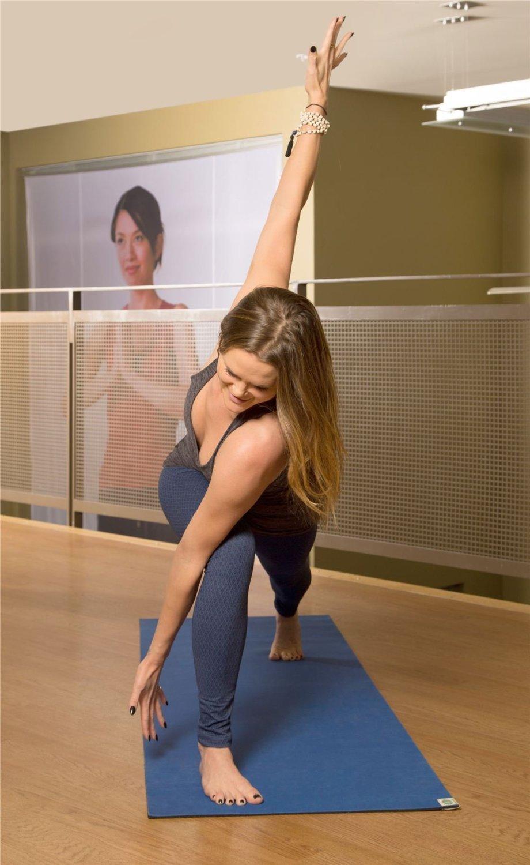 Kharma Khare híbrida Bliss Yoga Mat, Blue Azure: Amazon.es ...
