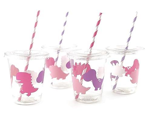 Stesha Party Vasos Desechables para Fiesta de Dinosaurio ...
