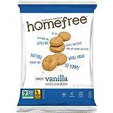 Homefree Treats You Can Trust Gluten Free Mini Vanilla cookie, 70% organic, single serve bag, 1.1 oz. (Pack of 10)