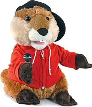 Cuddle Barn Animated Beaver Plush Sings u0026quot;Babyu0026quot; ...  sc 1 st  Amazon UK & Cuddle Barn Animated Beaver Plush Sings