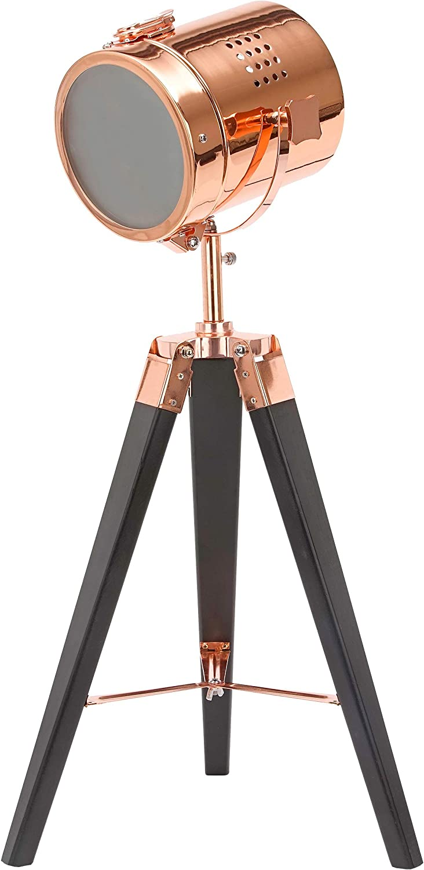 BRUBAKER Lámpara de pie - diseño Industrial - altura 65 cm - patas ...