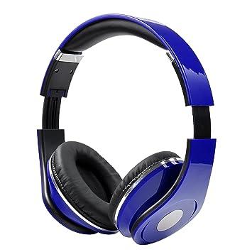 Xiak Auriculares con Cable Ajustables en la Oreja con micrófono y Control de Volumen para iPhone iPad iPod Android Teléfonos celulares Computadora portátil ...