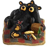 Bearfoots Bear Butterfly Picnic Figurine