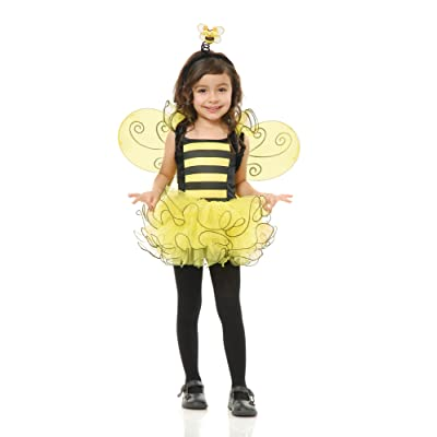 Charades Sweet Bee Children's Costume, Medium: Toys & Games