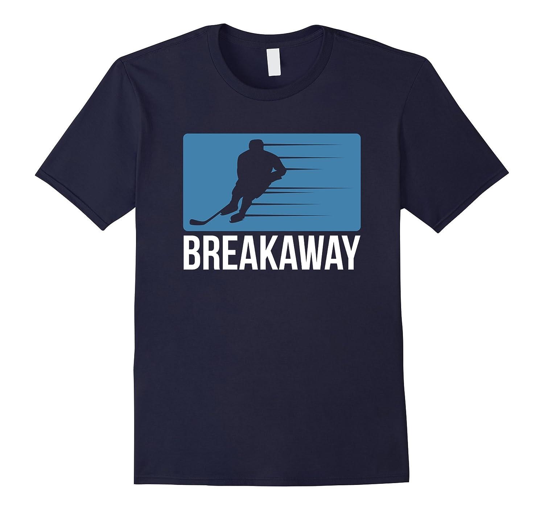 Breakaway Ice Hockey T Shirt-Vaci