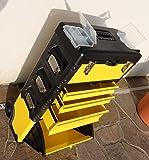 Metall Werkzeugtrolley XXL Type B305ABCD -> jetzt neu mit Schubladenverriegelung und Schloss von AS-S