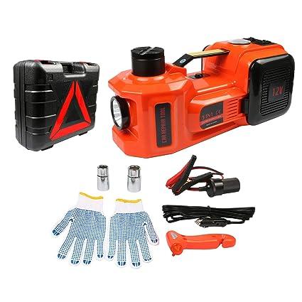 Amazon Com Beley 12v 5ton Electric Hydraulic Jack Car Jack Kit 3