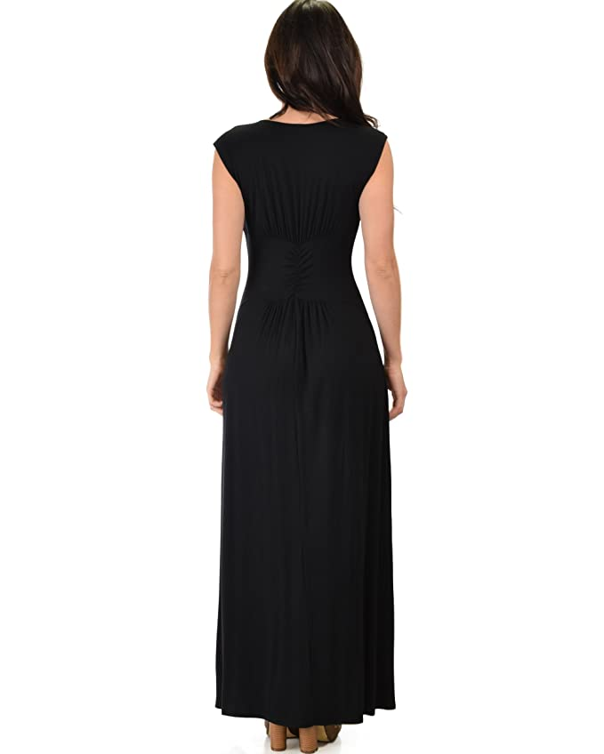 045114a17bc Lyss Loo Women s Sweetest Kiss Sleeveless Long Maxi Dress