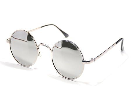Jee lunettes de soleil homme femme sports driving polaris¨¦es metal 8177(argent,noir)